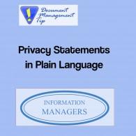 PrivacyStatement