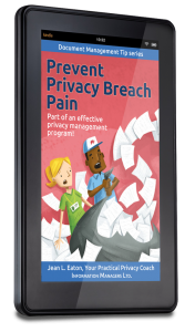 Coming soon on Kindle! Prevent Privacy Breach Pain