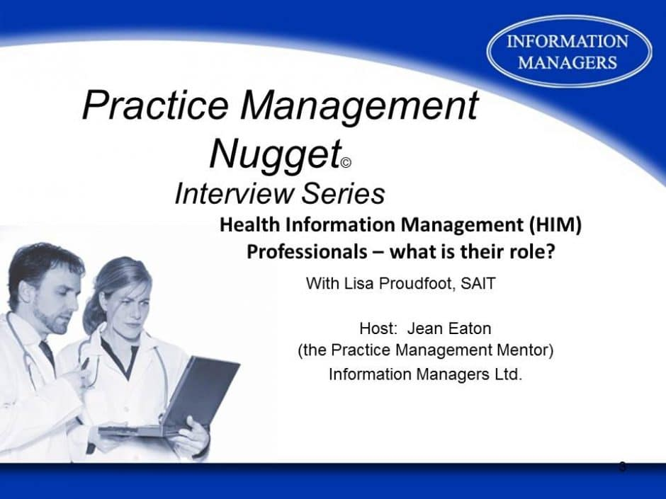 Health Information Management Interview