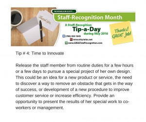 Staff Recognition May Tip#4 without webinar