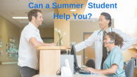 Can a Summer Student Help You?