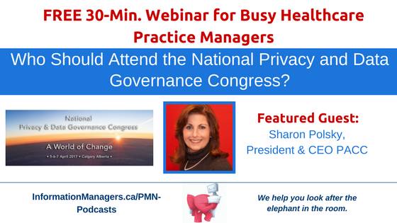 Who Should Attend the National Privacy and Data Governance Congress