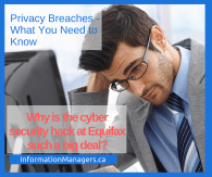 Cybersecurity hack at Equifax