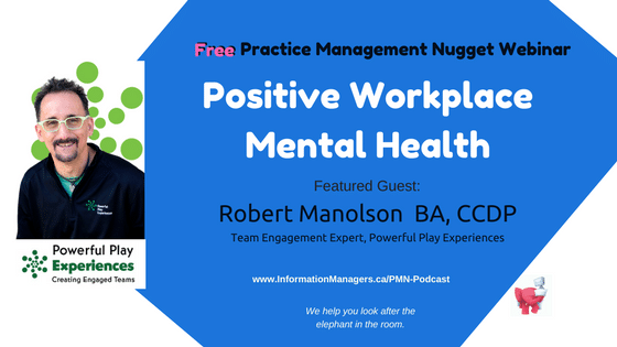 PMN 2018Jan11 Robert Workplace Mental Health