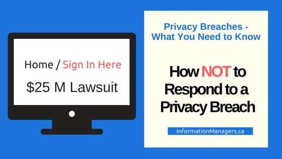 respond to a privacy complaint