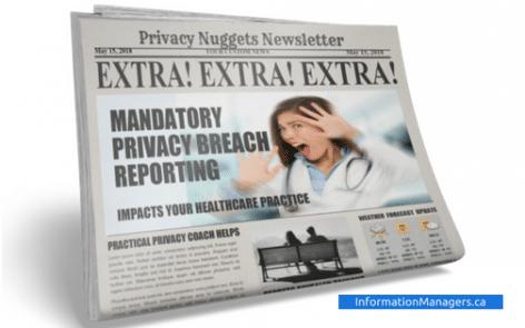 Mandatory Privacy Breach Reporting