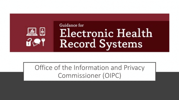 Guidance for Electronic Health Record Systems