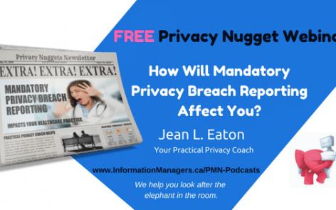 mandatory privacy breach