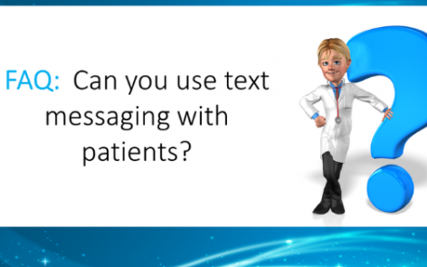 text messaging with patients