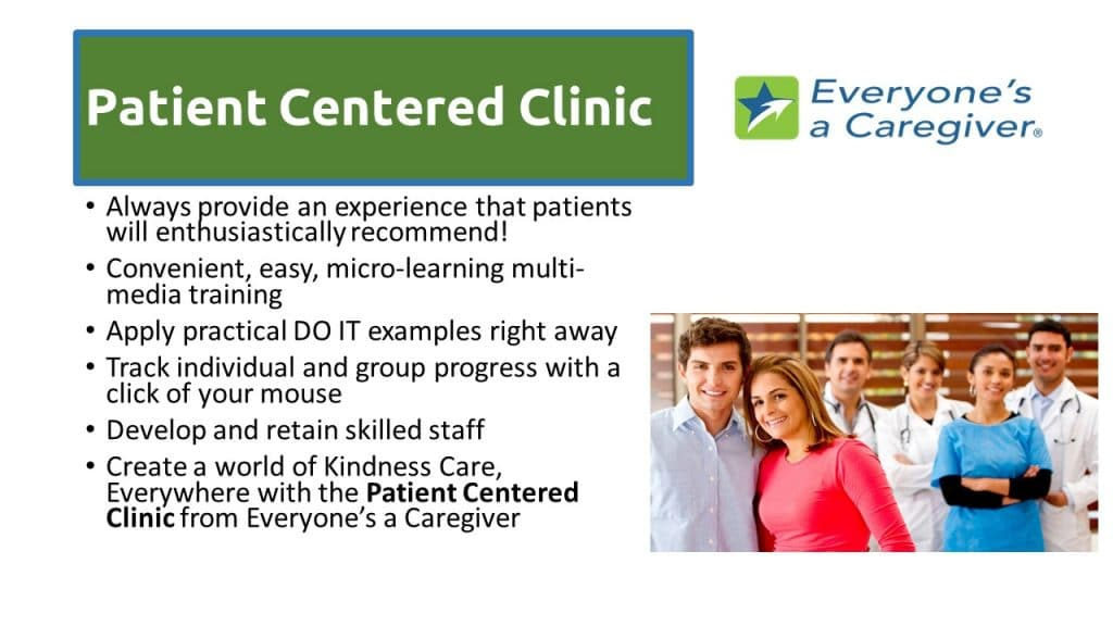Patient Centered Clinic Benefits