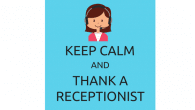 Thank a Receptionist