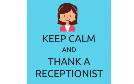 Thank a Receptionist
