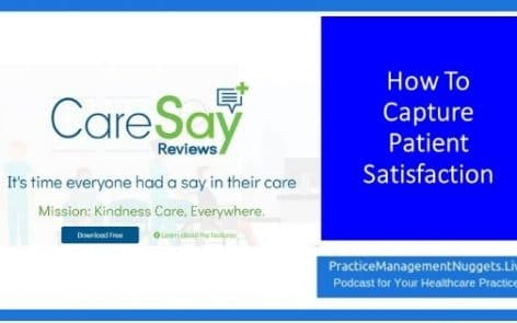 How To Capture Patient Satisfaction Wth CareSay