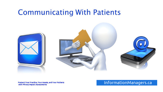 PIA Amendment Communicating with patients