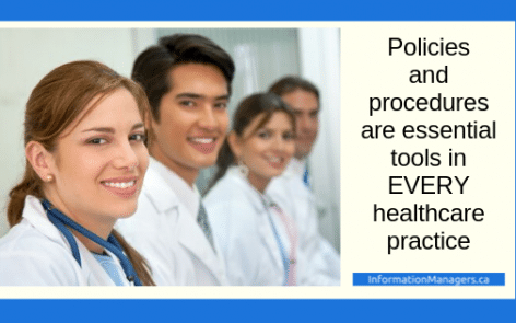 healthcare policies and procedures