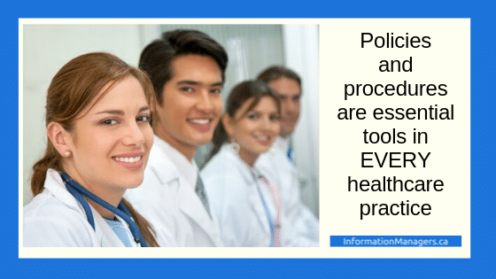 healthcare policies and procedures