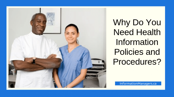 why you need policies and procedures need