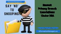 privacy breach convictions