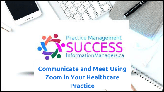 Communicate and Meet with Zoom Training in Healthcare Video Cover
