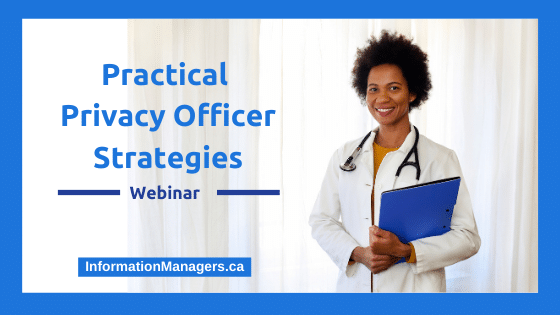 Practical Privacy Officer Strategies