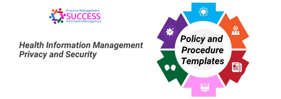 Health Information Policies and Procedures Templates