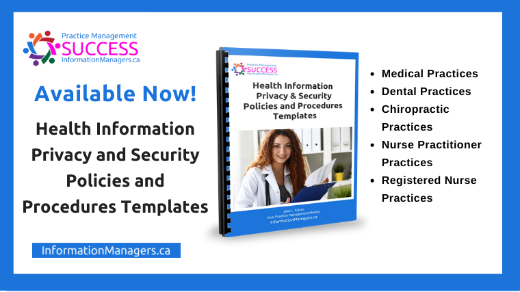 Health Information Policy and Procedure Template