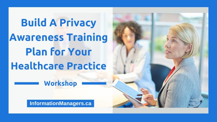 Privacy Awareness Training Plan