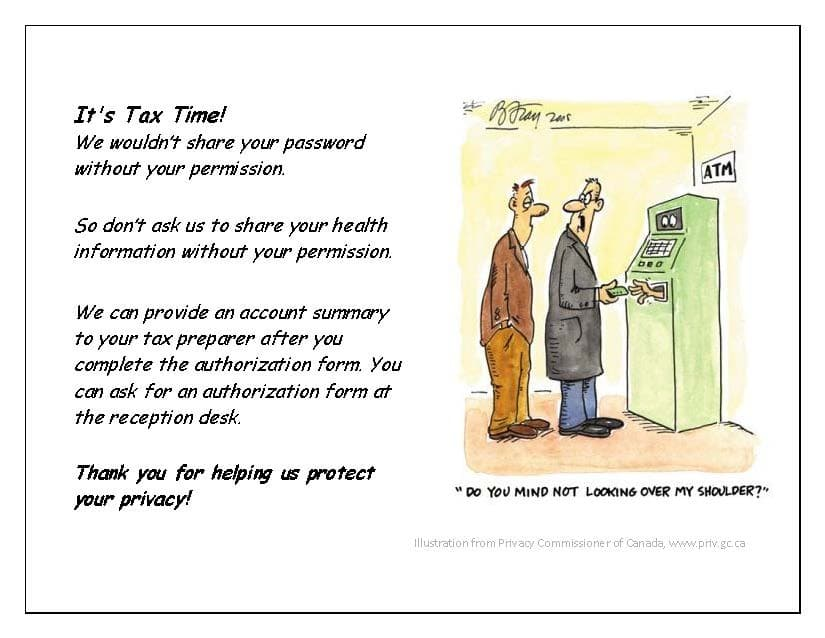 Patient Access Tax Reporting