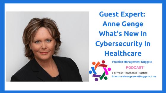 Anne Genge Cybersecurity