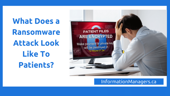 Ransomware Attack Patients