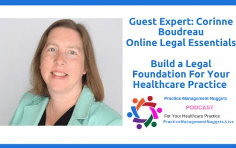 Corinne Boudreau Legal Foundation Healthcare Practice