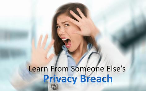 privacy breach training