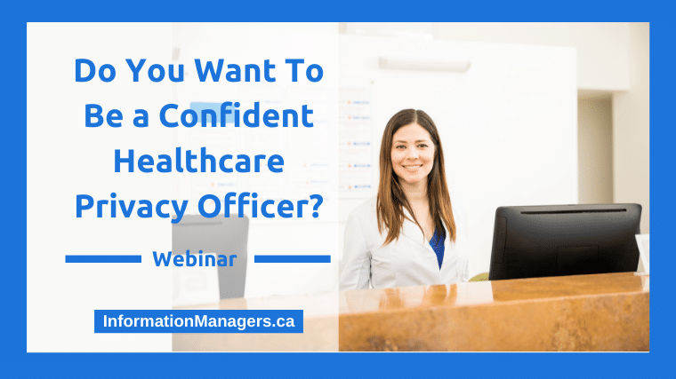 Confident Privacy Officer