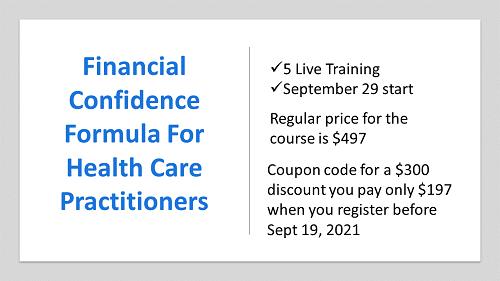 Financial Confidence Formula